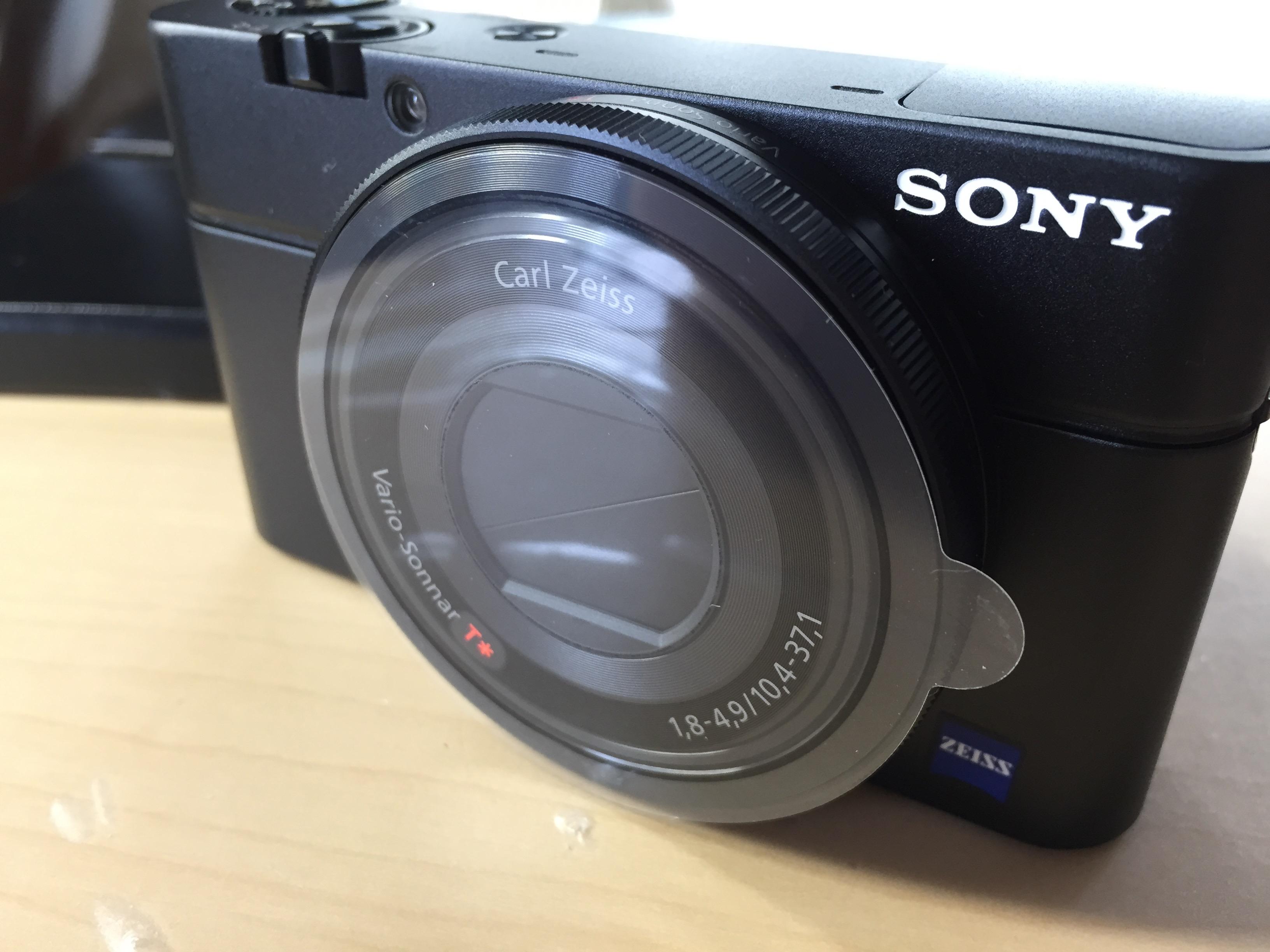 SONYの高級コンデジRX100をようやく購入!※RX100M3ではない