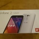 【格安スマホ】Zenfone2 Laserをゲットしたのでレビュー!スペック紹介・開封編