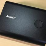 Ankerの大容量モバイルバッテリー、PowerCore+ 13400を使ってみた!